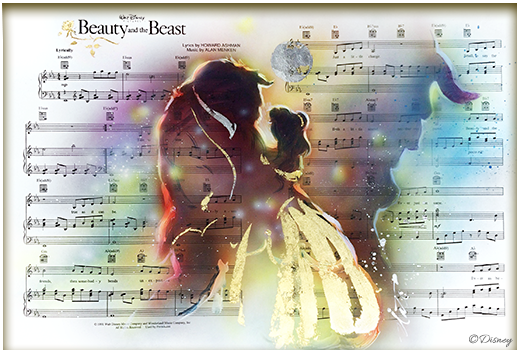 Brush Notes Beauty and Beast